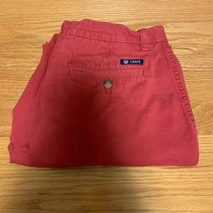 Chaps Flat Front Club Shorts Size 34